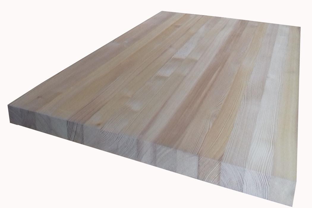 Мебельный щит Лиственница 40мм сорт А
