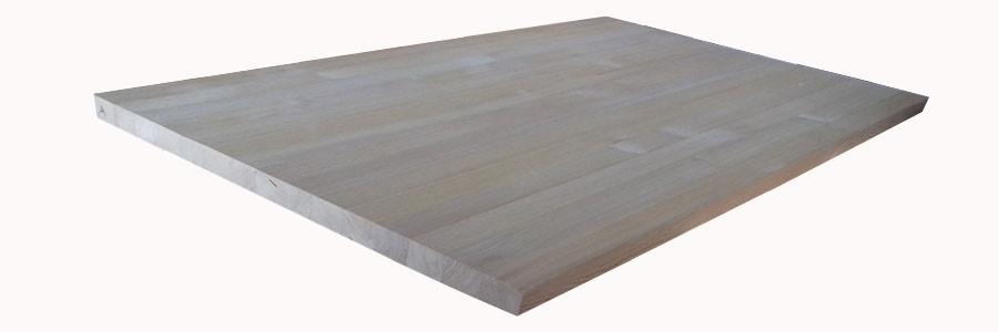 Мебельный щит из Лиственницы 18мм сорт В цельноламельный
