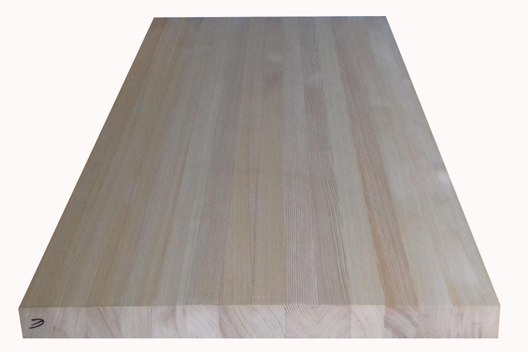 Мебельный щит Лиственница Экстра 40мм Цельноламельный